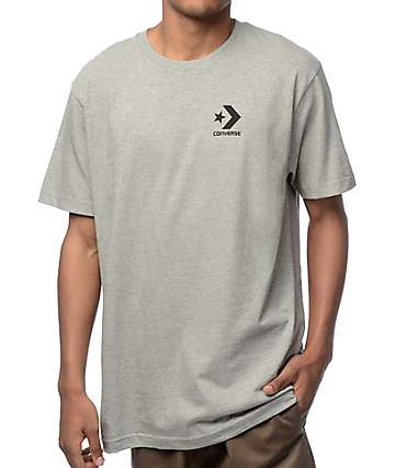 Converse Core Star Chevron camiseta gris