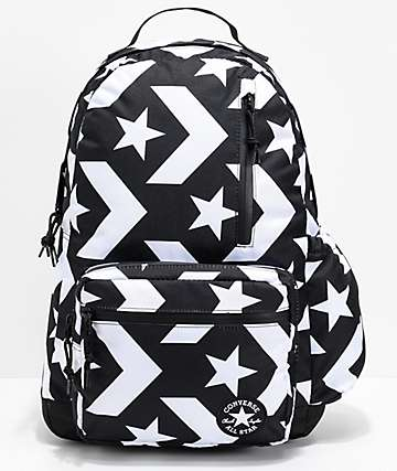 Converse Go Black & White Backpack