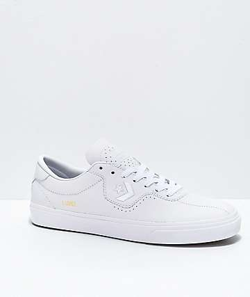 Converse Louie Lopez Pro White Leather Skate Shoes