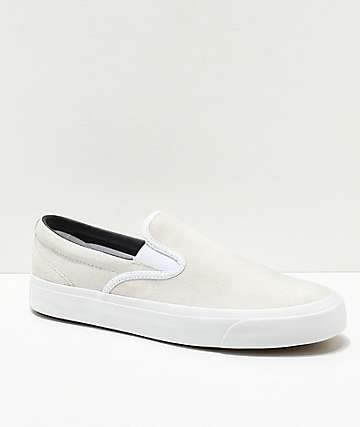 Converse One Star CC Slip-On White Skate Shoes