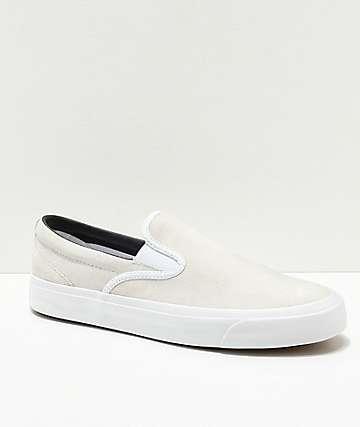 Converse One Star CC Slip-On zapatos de skate en blanco