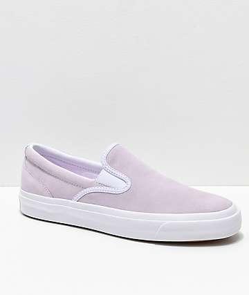 Converse One Star CC Slip-On zapatos de skate en morado claro