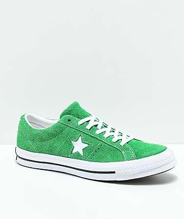 c34d2785d650 Converse One Star Green