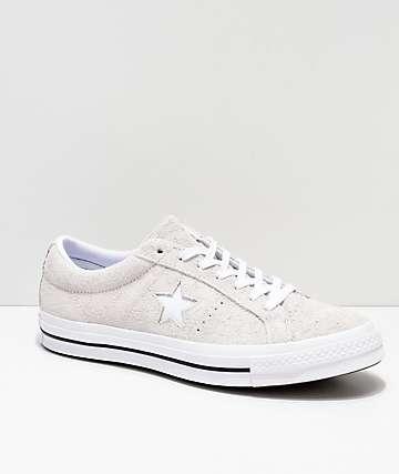 Converse One Star Pro Oxford zapatos de skate blancos