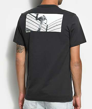 Converse Pani Paul Photo Charcoal Pocket T-Shirt