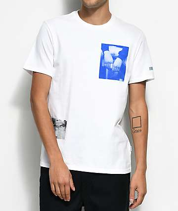 Converse Pani Paul Photo White T-Shirt