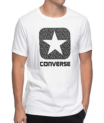 Converse Reflective Rain Box Star White T-Shirt
