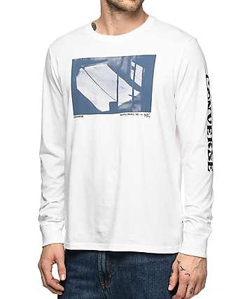 Converse Stash White Long Sleeve T-Shirt