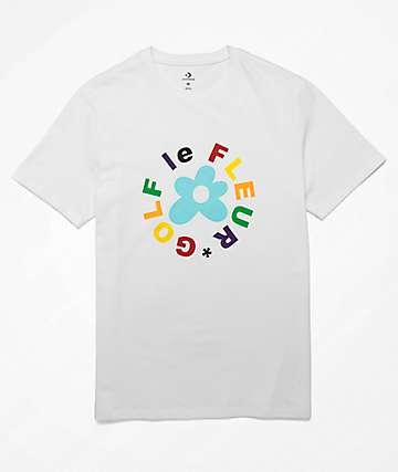 Converse x Golf Wang Le Fleur White T-Shirt