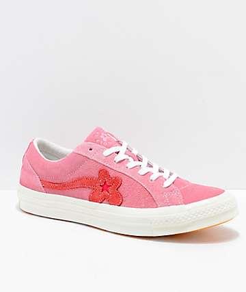 Converse x Golf Wang One Star Le Fleur Geranium Shoes