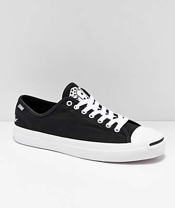 9666f510cf Converse x Illegal Civilization Jack Purcell Pro Black   White Shoes