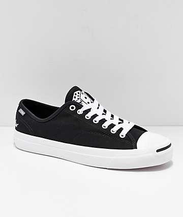 Converse x Illegal Civilization Jack Purcell Pro zapatos negros y blancos