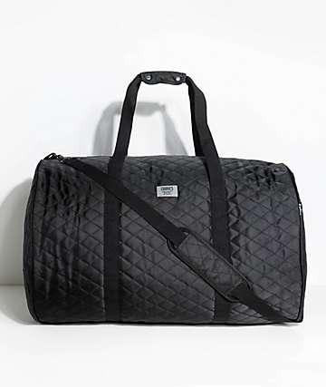 Cookies 1680 Quilted Black Duffel Bag