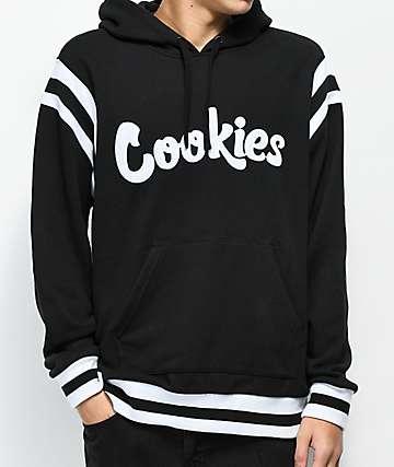 Cookies Alumni Hall sudadera negra con capucha de rizo francés