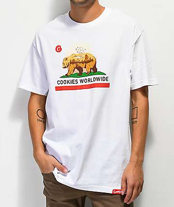 Cookies Bear White T-Shirt