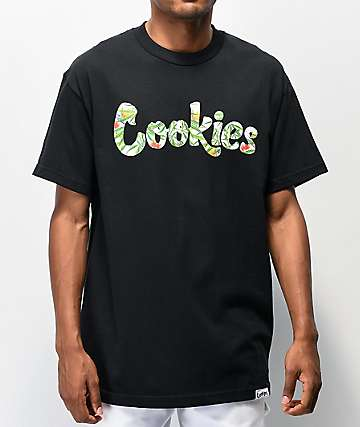 Cookies Birds Of Paradise Black T-Shirt