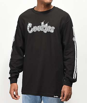Cookies Bling Bling Black Long Sleeve T-Shirt