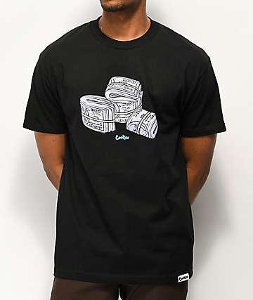 18ce16d4765 Cookies Blue Strips Black T-Shirt