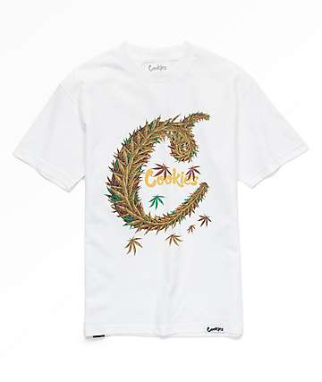Cookies C-Leaf White T-Shirt