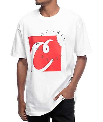 Cookies Carbon Fiber White T-Shirt