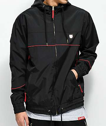 Cookies Carrera Black Canvas Jacket