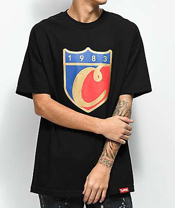 Cookies Carrera Logo Black T-Shirt