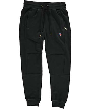 Cookies Carrera Terry Black Jogger Pants