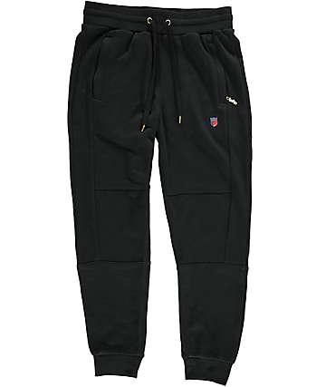 Cookies Carrera pantalones jogger de rizo francés en negro