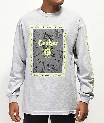 Cookies Citadel camiseta gris de manga larga