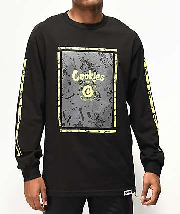 Cookies Citadel camiseta negra de manga larga