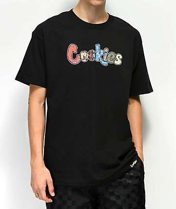Cookies Cut From A Different Cloth Black T-Shirt