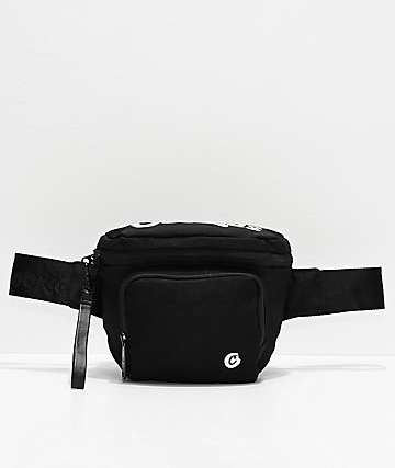 Cookies Environmental Smell Proof Black Fanny Pack
