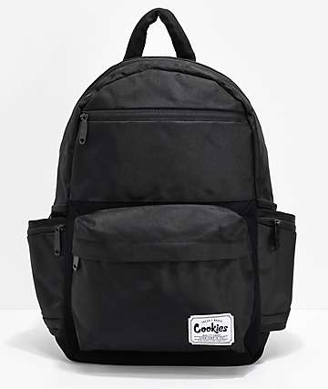 Cookies Fundamental Smell Proof Black Backpack
