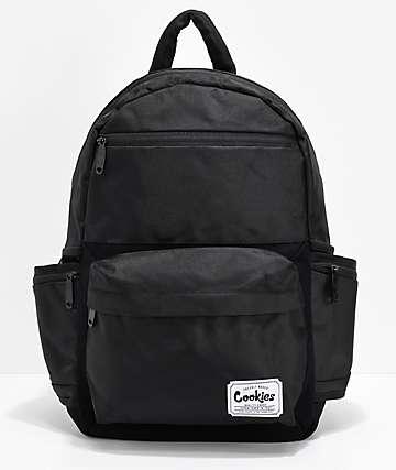 Cookies Fundamental Smell Proof Black Backpack