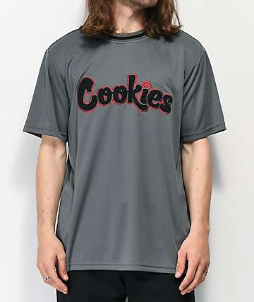 Cookies Hardwood Flava Grey Mesh T-Shirt