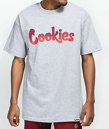 Cookies Horizon Thin Mint Logo camiseta gris