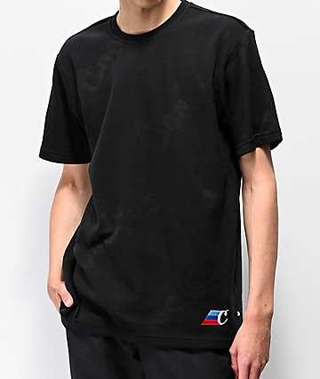 Cookies M3 AOP Black Short Sleeve Knit Shirt