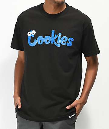 Cookies Monsters camiseta negra