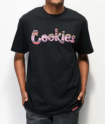 Cookies Peruvian Logo Black T-Shirt