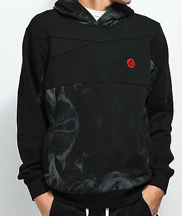 Cookies Smoke Pieced Black Hoodie