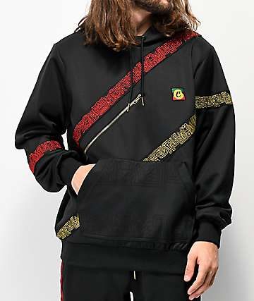Cookies Sol Poly Embroidered Black Hoodie