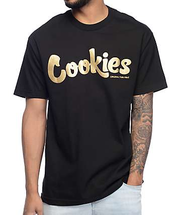 Cookies Stingray Thin Mint Black T-Shirt