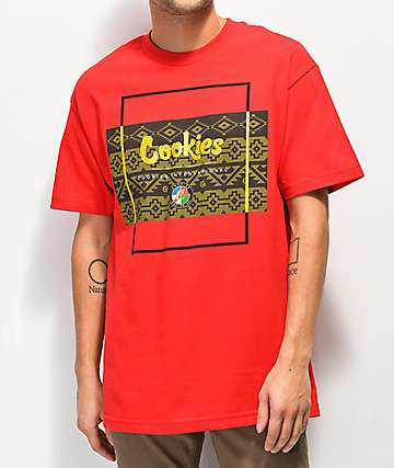 Cookies Tahoe Box Red T-Shirt