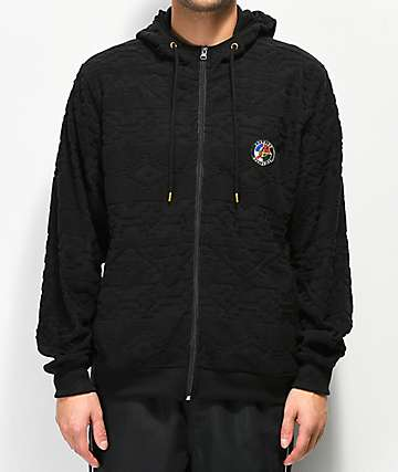 Cookies Tahoe Native Black Tech Fleece Hoodie