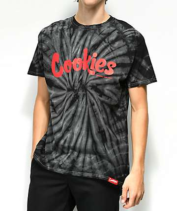 Cookies Thin Mint Black Spider Tie Dye T-Shirt