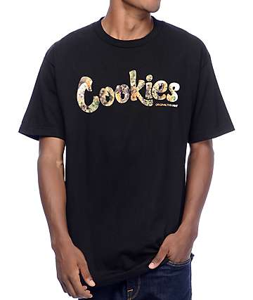 Cookies Thin Mint Filled Black T-Shirt