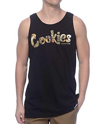 Cookies Thin Mint Filled Black Tank Top