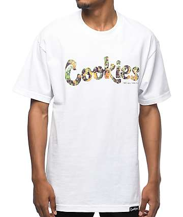 Cookies Thin Mint Filled camiseta blanca