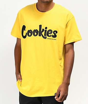 Cookies Thin Mint Yellow T-Shirt