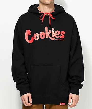 Cookies Thin Mint sudadera con capucha en negro y rojo